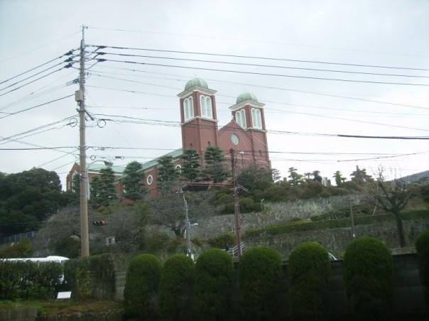 Catedral Urakami em Nagasaki (reconstruída).